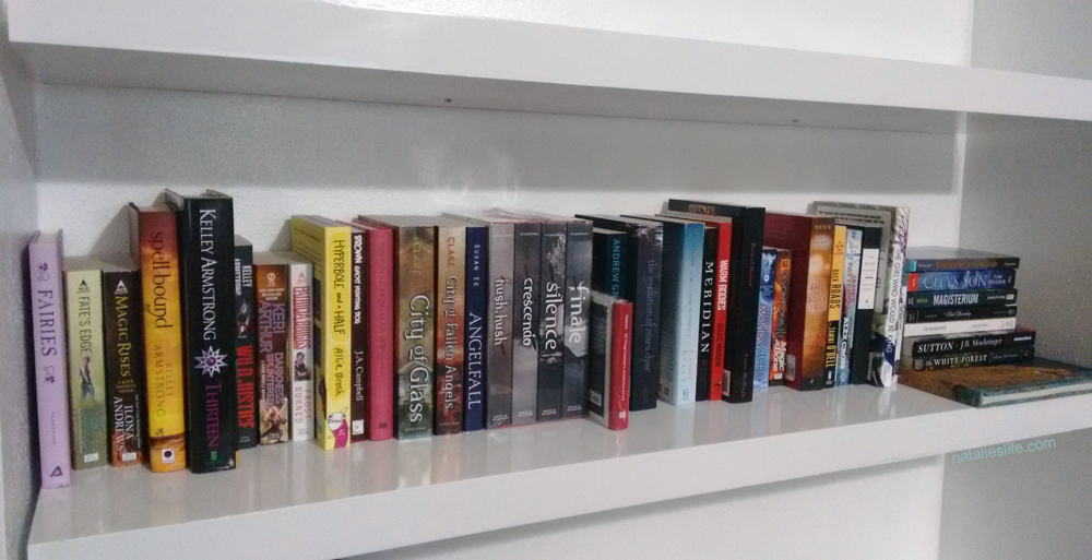 TBR shelf
