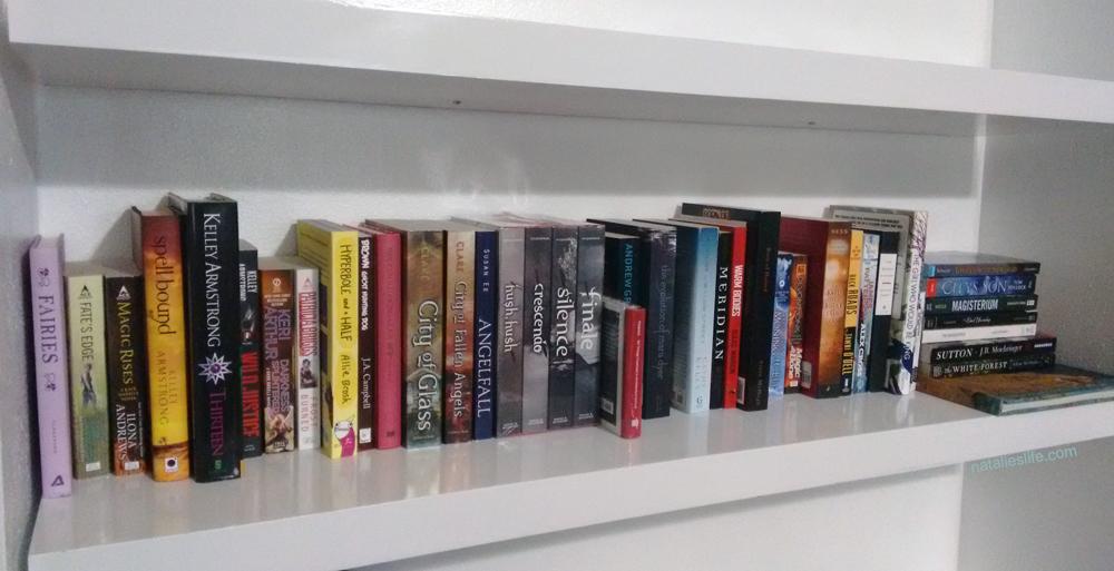 TBR shelf